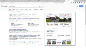Eksempel på Google profil